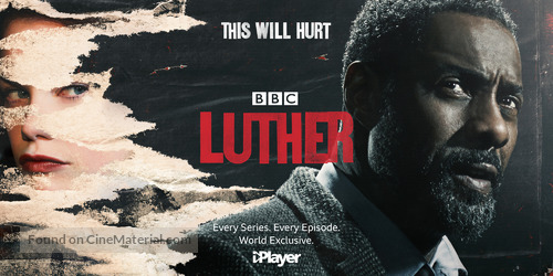 """Luther"" - British Movie Poster"