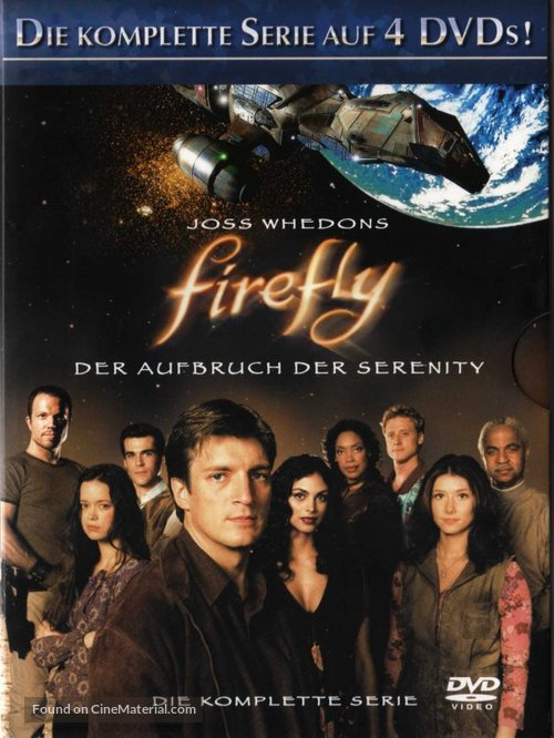 """Firefly"" - German DVD movie cover"