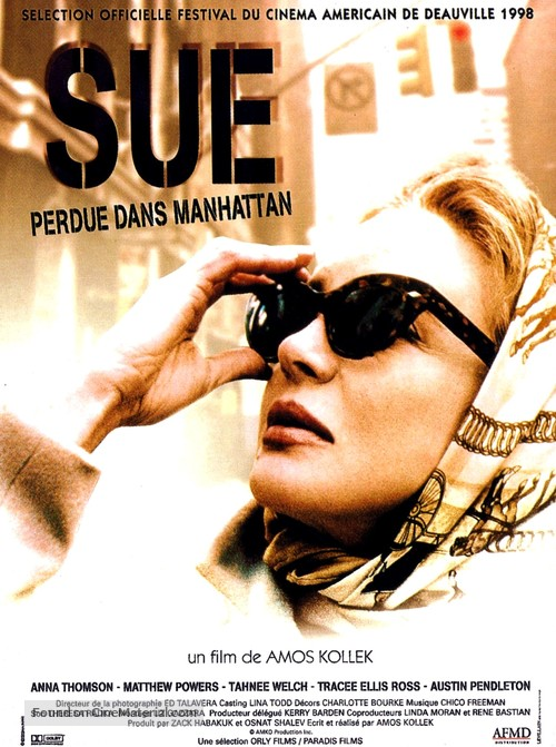 Sue - French Movie Poster