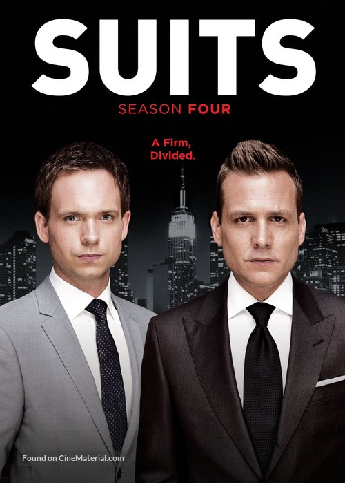 """Suits"" - DVD movie cover"