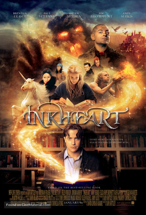 Inkheart - Advance movie poster