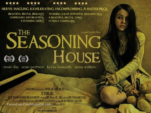 The Seasoning House - British Movie Poster
