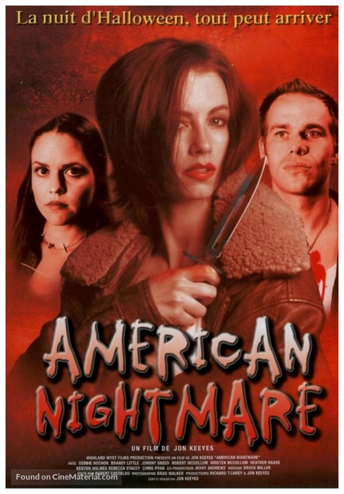 American Nightmare - French Movie Cover