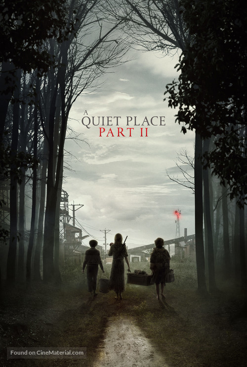 A Quiet Place: Part II - Video on demand movie cover