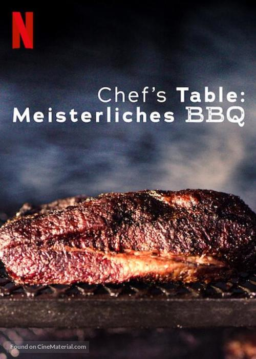 """""""Chef's Table: BBQ"""" - German Video on demand movie cover"""