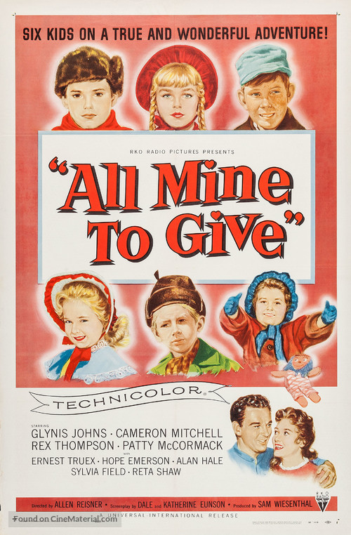 All Mine to Give - Movie Poster