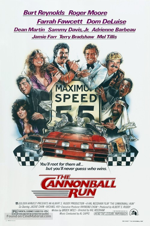 The Cannonball Run - Theatrical movie poster