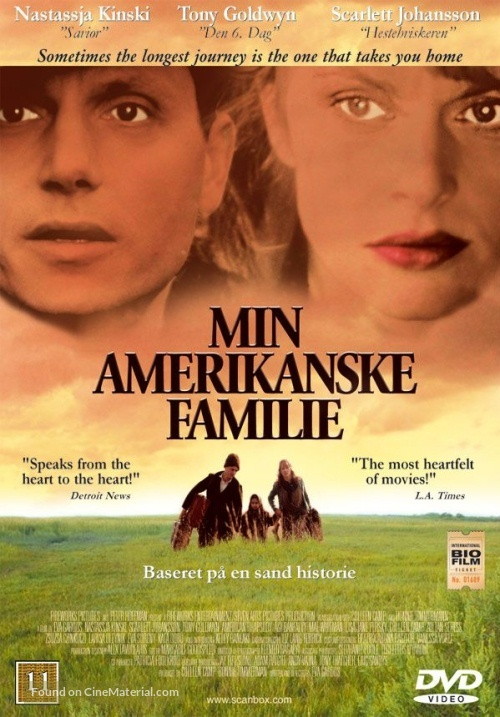 An American Rhapsody - Danish Movie Cover