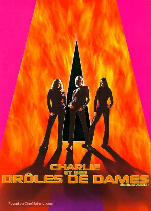 Charlie's Angels - French DVD movie cover