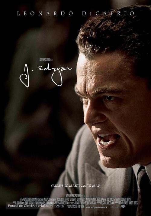J. Edgar - Swedish Movie Poster