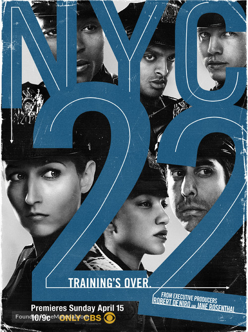 """""""NYC 22"""" - Movie Poster"""