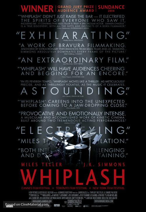 Whiplash - Canadian Movie Poster