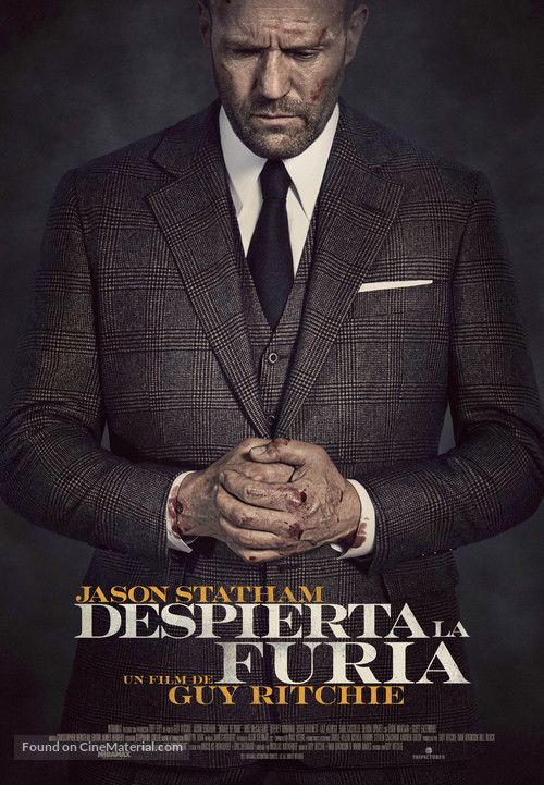 Wrath of Man - Spanish Movie Poster
