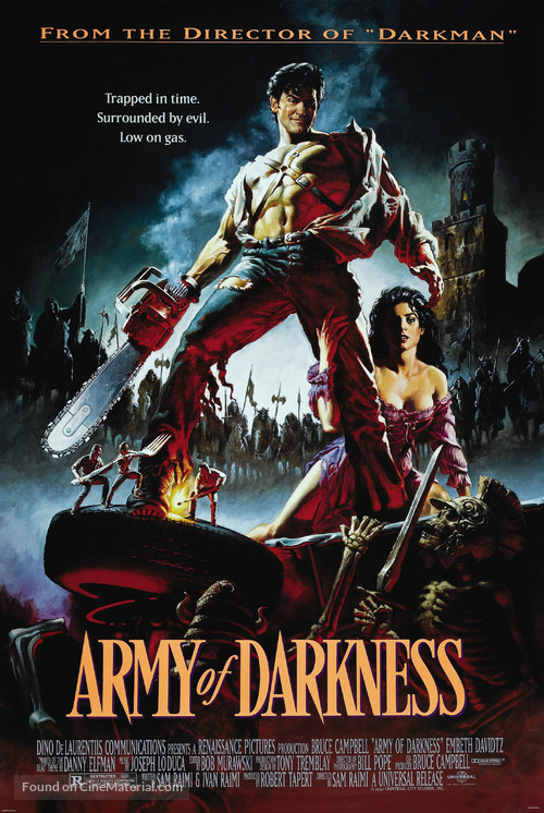 Army Of Darkness - Theatrical movie poster
