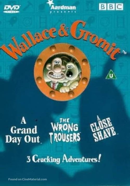 Wallace & Gromit: The Best of Aardman Animation - British DVD cover