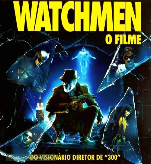 Watchmen - Brazilian Blu-Ray movie cover
