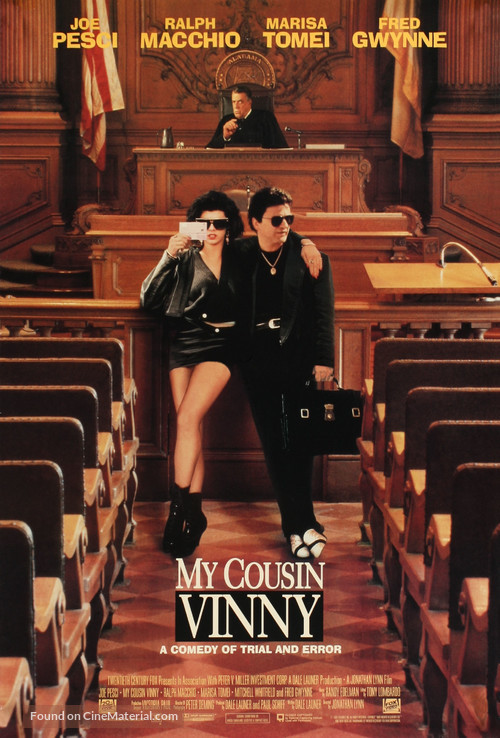 My Cousin Vinny - Movie Poster