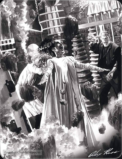 Bride of Frankenstein - Spanish Blu-Ray movie cover