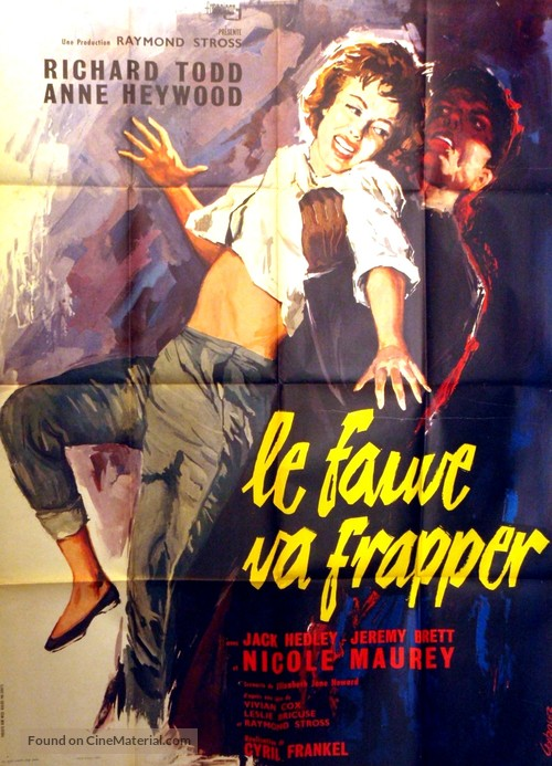 The Very Edge - French Movie Poster
