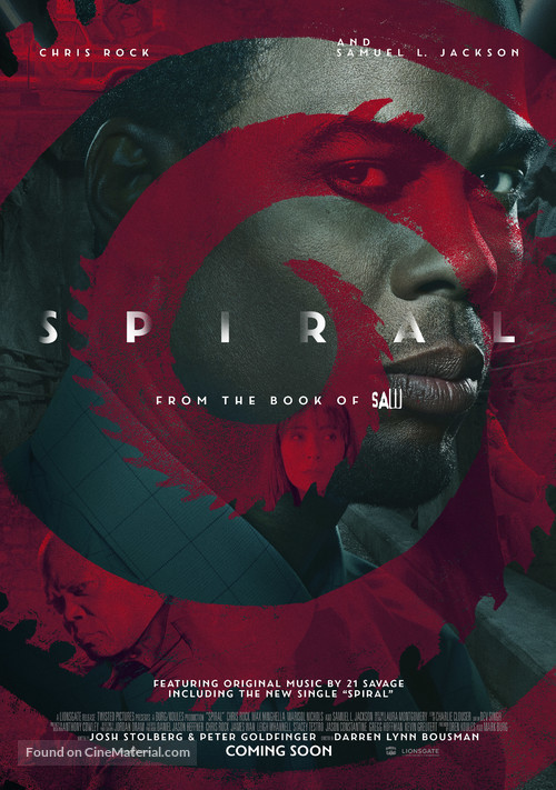 Spiral: From the Book of Saw - British Movie Poster