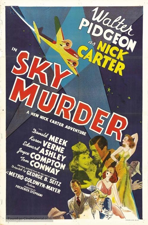 Sky Murder - Movie Poster