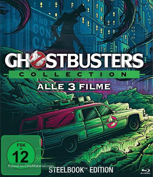 Ghostbusters - German Movie Cover
