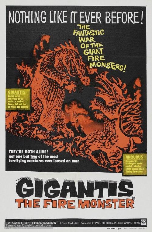 Gigantis: The Fire Monster - Movie Poster