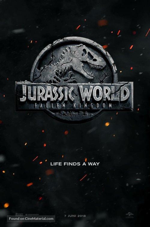 Jurassic World: Fallen Kingdom - Dutch Movie Poster