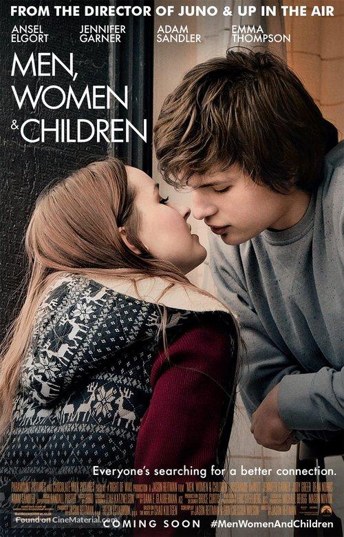 Men, Women & Children - British Movie Poster