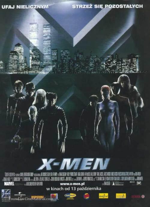 X-Men - Polish Movie Poster
