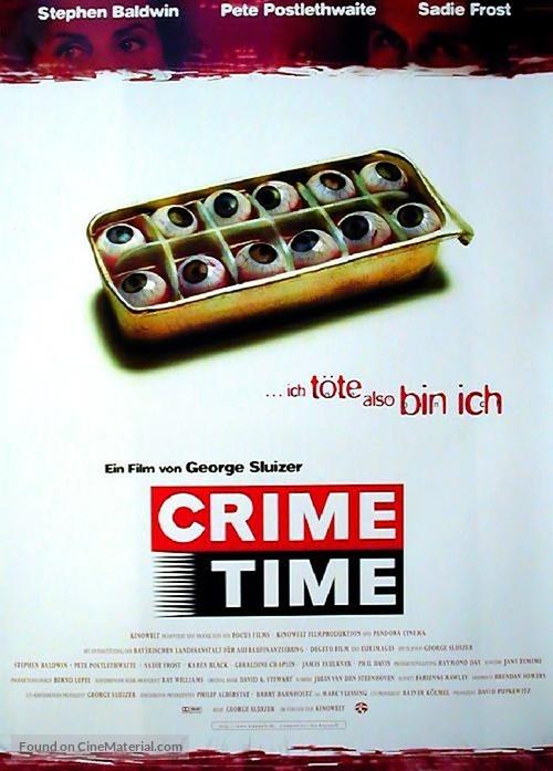 Crimetime - German Movie Poster