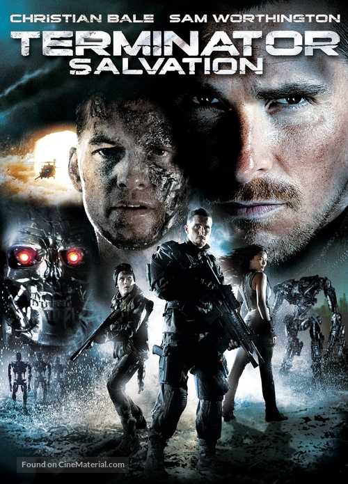 Terminator Salvation 2009 Movie Cover