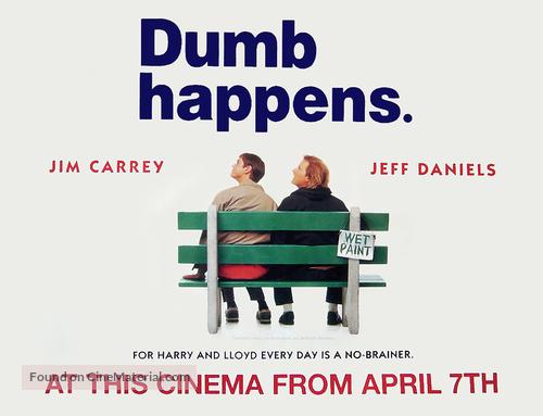 Dumb & Dumber - British Movie Poster