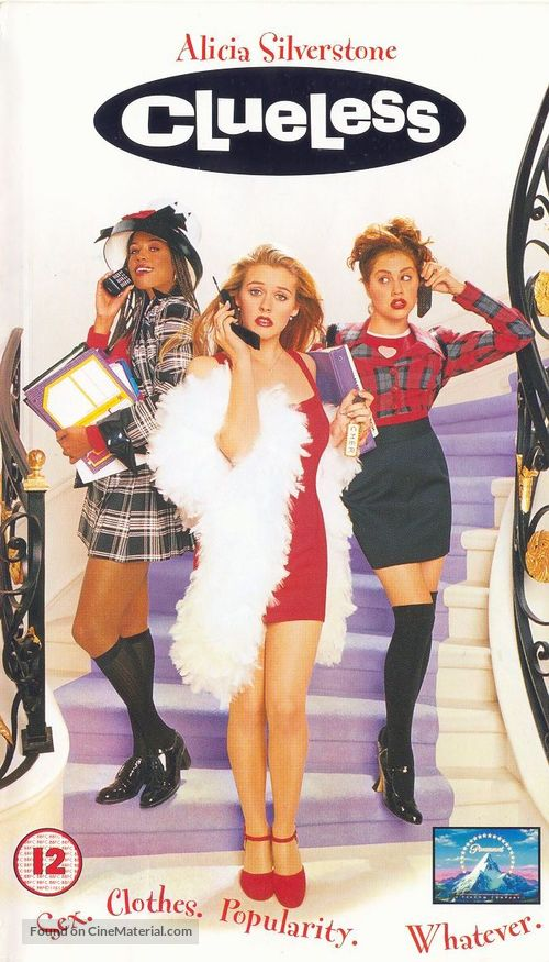 Clueless - British VHS movie cover