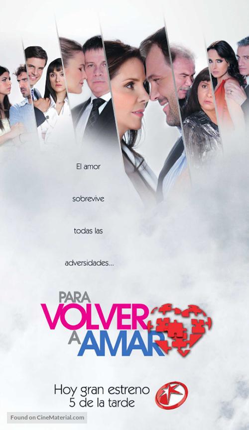 """""""Para volver a amar"""" - Mexican Movie Poster"""