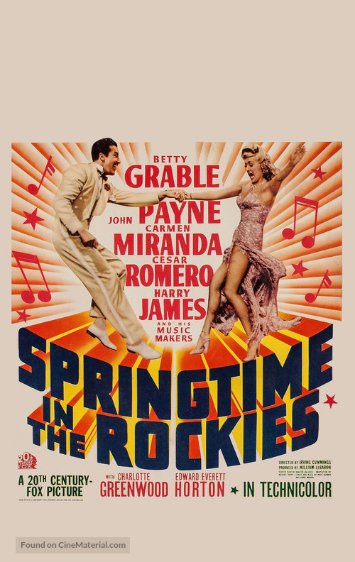 Springtime in the Rockies - Movie Poster
