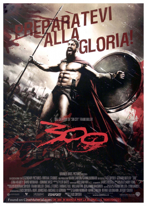300 - Italian Movie Poster