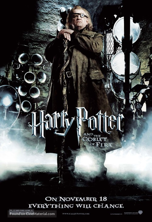 Harry Potter And The Goblet Of Fire 2005 Movie Poster