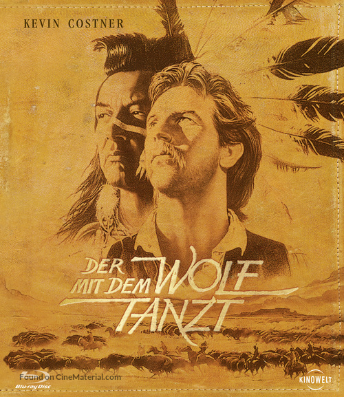 Dances with Wolves - German Blu-Ray movie cover
