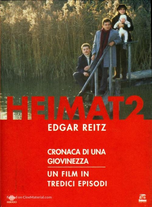 Die Zweite Heimat Chronik Einer Jugend 1992 Spanish Dvd Movie Cover