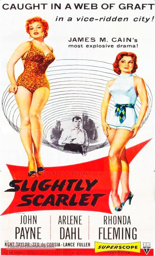 Slightly Scarlet - Movie Poster