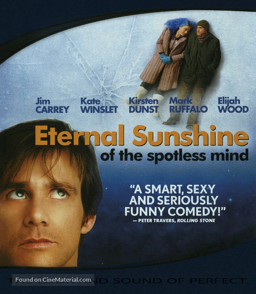 Eternal Sunshine of the Spotless Mind - Movie Cover