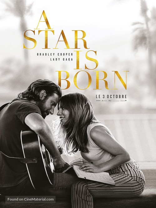 A Star Is Born - French Movie Poster