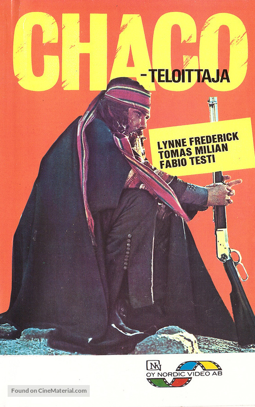 Quattro dell'apocalisse, I - Finnish VHS movie cover