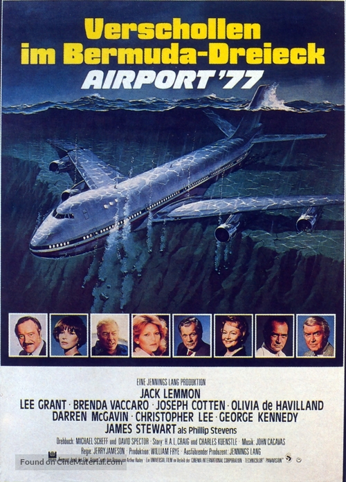 Airport '77 - German Movie Poster