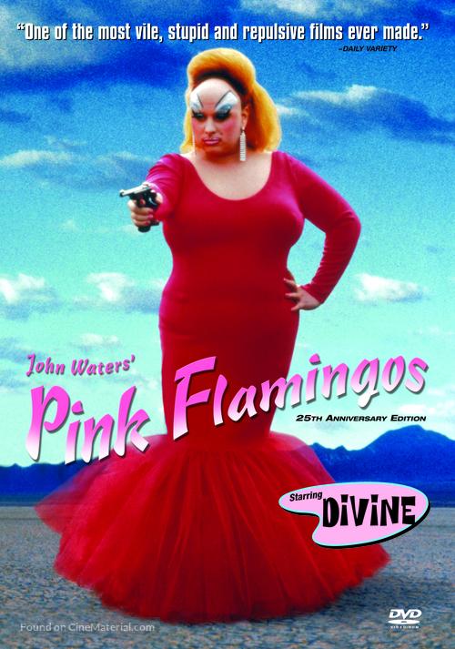 Pink Flamingos - DVD movie cover