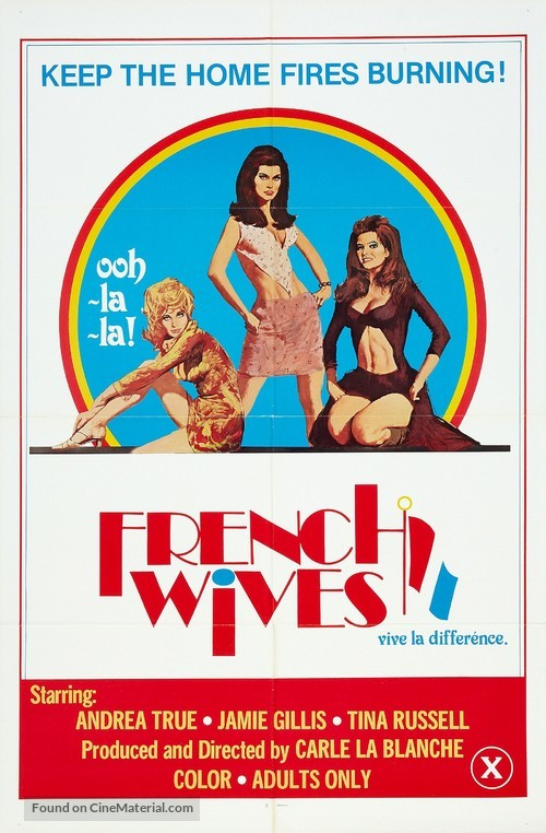 French Wives - Movie Poster