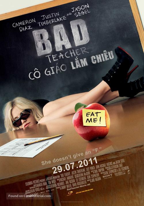 Bad Teacher - Vietnamese Movie Poster