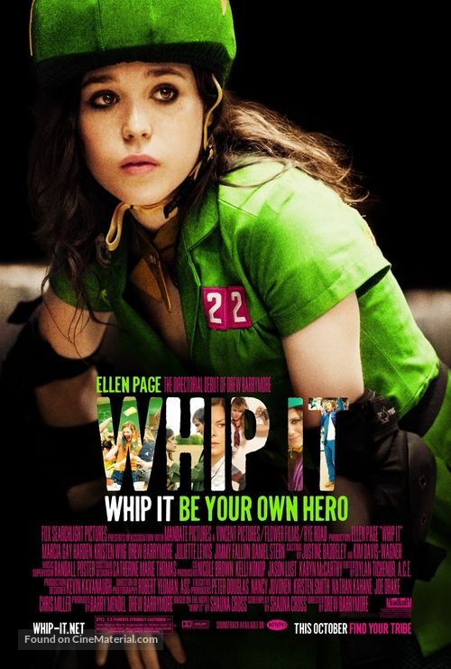 Whip It - Movie Poster