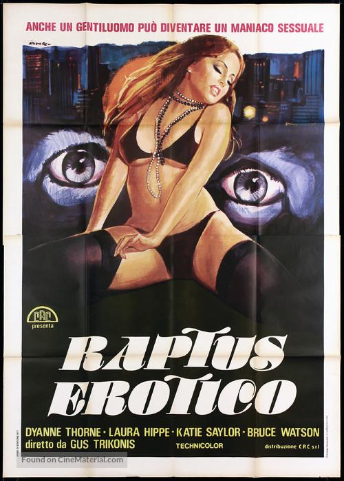 The Swinging Barmaids - Italian Movie Poster